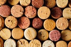 Вино corks предпосылка Стоковое Изображение RF