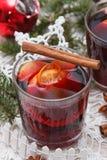 вино mulled рождеством Стоковое Фото