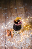 вино mulled рождеством Стоковое Изображение
