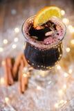 вино mulled рождеством Стоковая Фотография