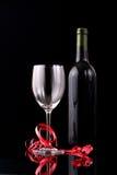 вино nd бутылочного стекла красное стоковое фото