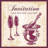 вино ornamental предпосылки бесплатная иллюстрация