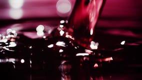 Вино Pour_002 сток-видео