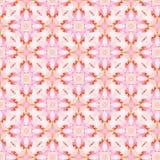 Винтажная абстрактная безшовная картина, дизайн ткани Стоковое Изображение RF