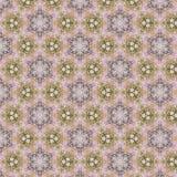 Винтажная абстрактная безшовная картина, дизайн ткани Стоковая Фотография RF