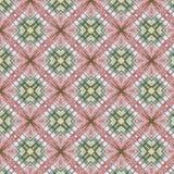 Винтажная абстрактная безшовная картина, дизайн ткани Стоковые Изображения RF