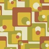 Винтажная абстрактная безшовная картина Стоковые Фото