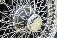 Винтажная автошина автомобиля Стоковые Фото