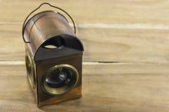 Винтажная лампа керосина стиля, фонарик Стоковые Фото