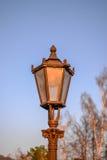 Винтажная лампа парка Стоковое Изображение RF