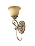 Винтажная лампа стены Стоковые Фото