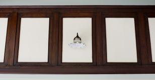 Винтажная лампа стены Стоковые Изображения RF