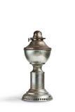 Винтажная лампа фонарика масла керосина на предпосылке изолята Стоковое Изображение RF