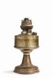 Винтажная лампа фонарика масла керосина на предпосылке изолята Стоковое Фото