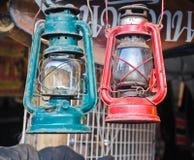 Винтажная лампа фонарика масла керосина Стоковое Фото