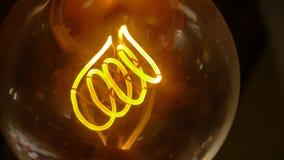 Винтажная лампочка стоковая фотография rf