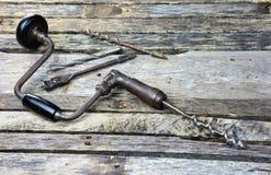 Винтажная античная расчалка с сортированными битами Стоковое Изображение RF