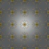 Винтажная безшовная картина с кружевным орнаментом Его можно использовать для обоев, заполнений картины, предпосылки интернет-стр Стоковое Фото