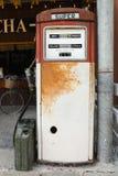 Винтажная бензиновая колонка Стоковое Фото