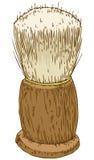 Винтажная брея щетка Стоковые Фотографии RF