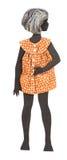 Винтажная бумажная кукла стоковая фотография