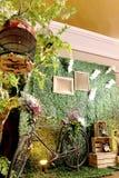 Винтажная будочка фото Ява стоковые фотографии rf