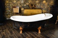 Винтажная ванна Стоковое Фото