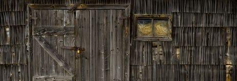 Винтажная дверь старого дома Стоковая Фотография RF