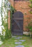 Винтажная дверь Стоковые Фото