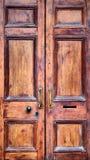 Винтажная дверь Стоковое Фото