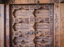 Винтажная дверь Стоковое Изображение RF