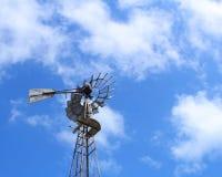 Винтажная ветрянка Стоковые Фотографии RF