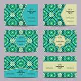 Винтажная визитная карточка Стоковое Изображение