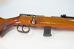 Винтажная винтовка в подрезанном изображении Стоковое Изображение RF