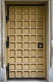 Винтажная входная дверь стоковые изображения rf