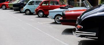 Винтажная выставка автомобиля Стоковое Изображение