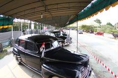 Винтажная выставка автомобиля Стоковое Изображение RF