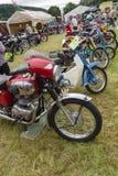 Винтажная выставка мотоцикла Стоковые Изображения RF