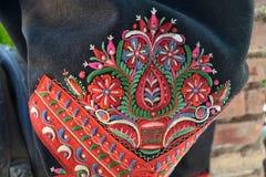 Винтажная вышивка словака Стоковые Изображения RF