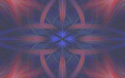 Винтажная геометрическая предпосылка картины старая флористическо бесплатная иллюстрация