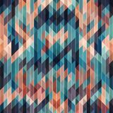 Винтажная геометрическая предпосылка диско Стоковое Фото
