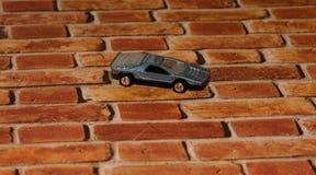 Винтажная гоночная машина игрушки металла Стоковые Изображения