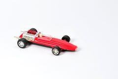 Винтажная гоночная машина игрушки Стоковая Фотография