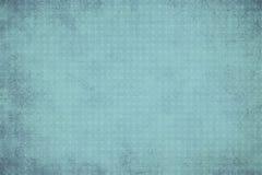 Винтажная голубая геометрическая предпосылка с кругами Стоковое Фото