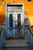 Винтажная дверь стоковая фотография
