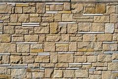 Винтажная декоративная каменная кладка от булыжников к дизайну, Стоковое фото RF