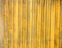 Винтажная деревянная покрашенная текстура предпосылки загородки доски Стоковое фото RF