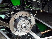Винтажная деталь колеса автомобиля стоковые изображения rf