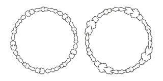 Винтажная декоративная предпосылка, vector ретро античная рамка иллюстрация вектора