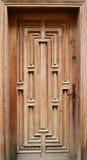 Винтажная деревянная дверь Стоковое фото RF